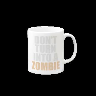ゾンビにならないで! マグカップ