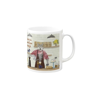 LIFE IS A JOURNEY CAFE マグ Mugs