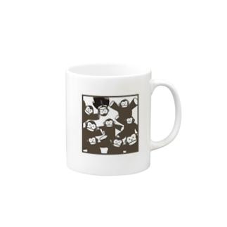 ゴリラくん マグカップ Mugs