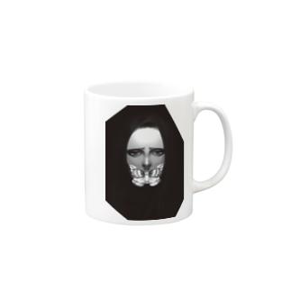 蟲女ちゃん Mugs
