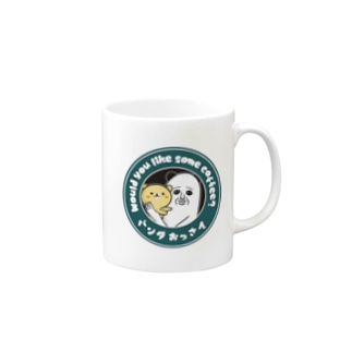 パンダおっさんCOFFEE Mugs