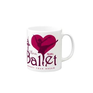 I Love Ballet A Mugs
