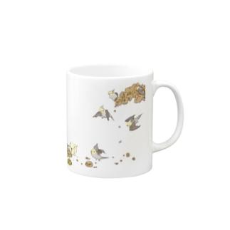 粟穂とオカメインコ Mugs