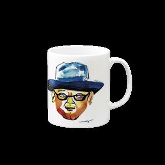 megumiillustrationのhongyoマグカップ