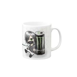 2次元風 マグカップ Mugs