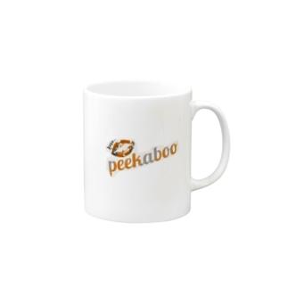 peekaboo × シンプルマグ Mugs