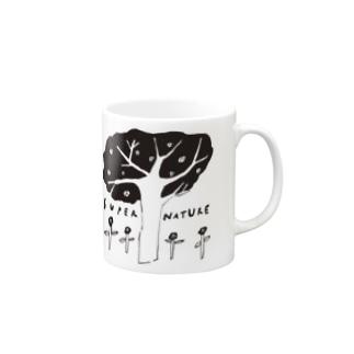 スーパーネイチャー Mugs