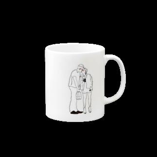 watayuのlove chuuuマグカップ