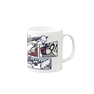 アメコミ文鳥 Mugs