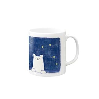 夜のクマ Mugs