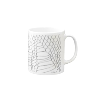 WIRE NET WORK by nisai® Mugs