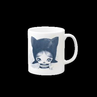 ShikaniwaSandyJidoS.AliceO.S.のcat boy マグカップ