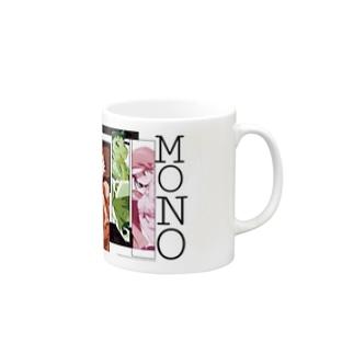 物語シリーズのマグカップ Mugs