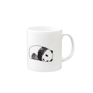 おねむのパンダさん Mugs