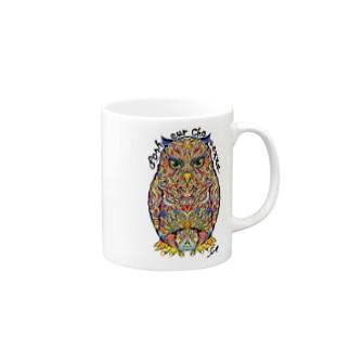 Bonheur Chouette Mugs