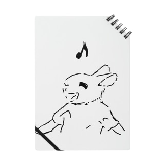 うさぎむすこ(黒9) ノート