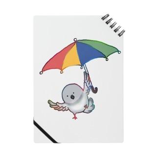 傘を使って飛ぶ鳩 Notes