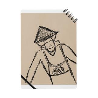 JUNSEN(純仙)背負い籠を担ぐ農夫 Notes