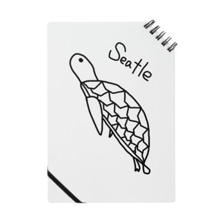ウミガメのシートル君  ノート