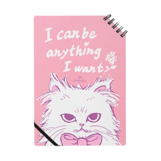 ribbon cat note*I can be anything I want*/『何でもなりたいものになれる』とあるネコノート ノート