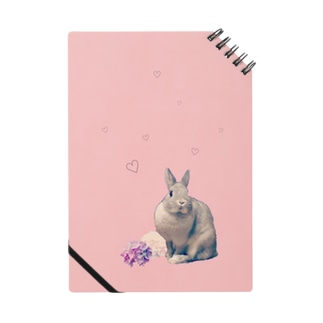 うさぎのミニー ピンク Notes