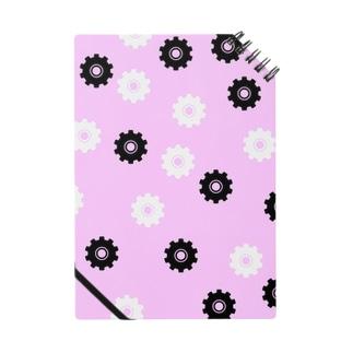 歯車ピンク Notes