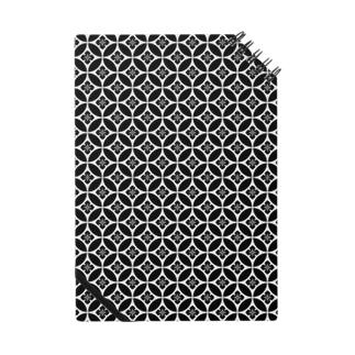 Black&White(和風柄) Notes