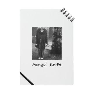nuwtonの小顔のモンゴルナイフ ノート