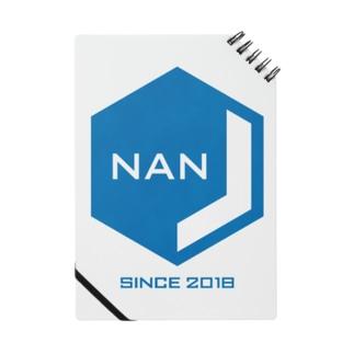 NANJCOIN公式ロゴ入り ノート