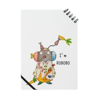 ROBOBO 「まーぶるロボ」ウサギ スチームパンク Notes