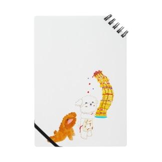 マルチーズのシェリーとプードルのガジュマル Notes