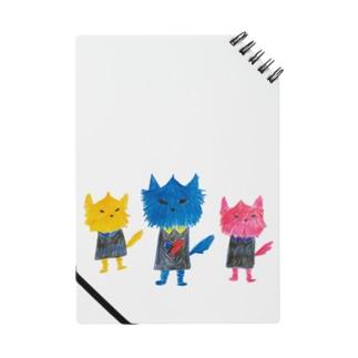 ノラヌコ3兄弟 Notes