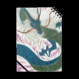 みぎわ天使妖精(養成)事務所の四聖獣の西方を護る青龍をパステルで描いています。 Notes
