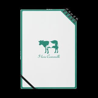 牛乳だいすき!のI love Cowsmilk Notes