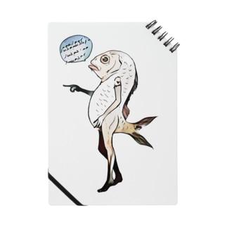 魚人間 ノート