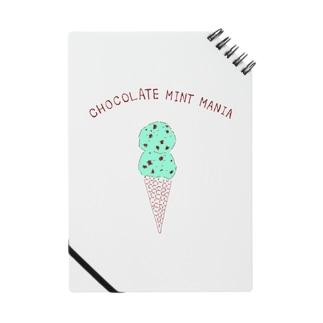 チョコミントマニア専用デザイン Notes