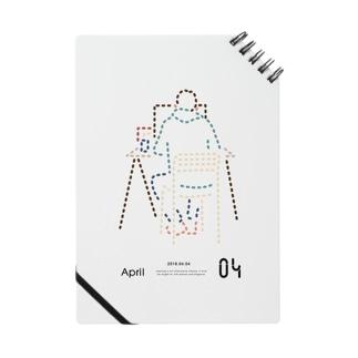 【2018.04.04】新井リオの英語日記グッズ ノート