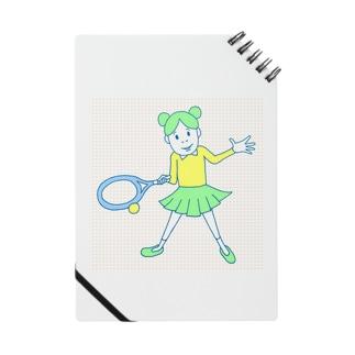 庭球ピコちゃんカラー Notes