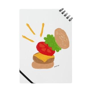 楽しくなっちゃうハンバーガー ノート