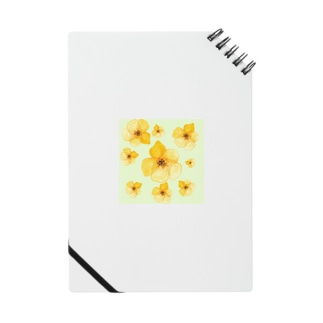 可愛い小花 ノート