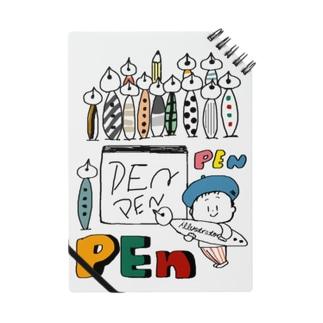 (わーくわくシリーズ)illustratorさん(Pen好き) ノート