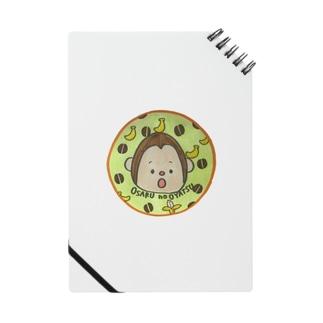 LOGO(コーヒー豆とバナナ) Notes