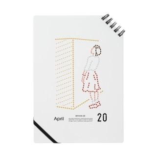 【2018.04.20】新井リオの英語日記グッズ ノート