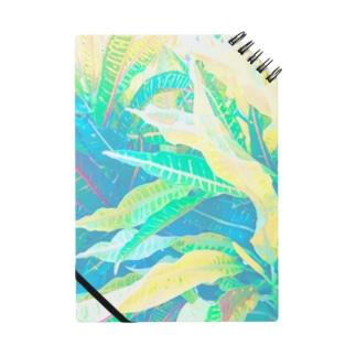 南国の葉っぱ4🌿 ノート