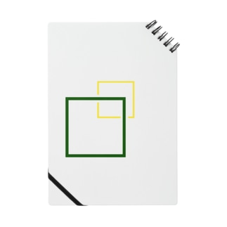 シンプルに四角でデザッちゃったよ! Notebook