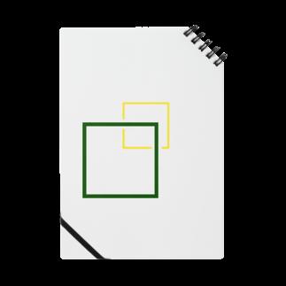 ユニークショップどひゃんご丸のシンプルに四角でデザッちゃったよ! Notes