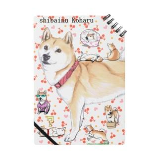 柴犬小春ノート Notes