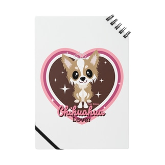 FOXY COLORSのチワワ フォーン Notebook