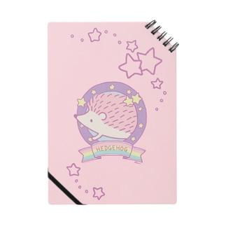 ゆめかわハリネズミ(pink) Notes