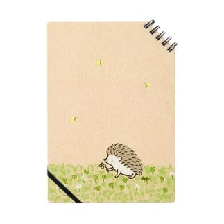 シロツメクサとハリネズミ Notes